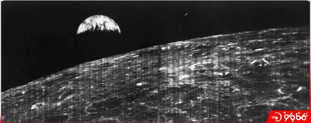 اولین عکس زمین از ماه