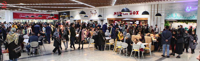 رستوران و فوت کورت ایران مال