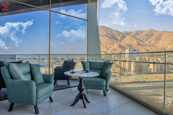 نمایی از هتل ایران مال