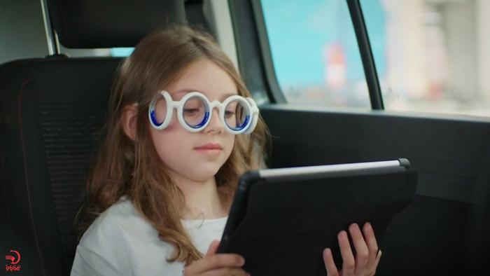 استفاده از عینک مخصوص دریازدگی