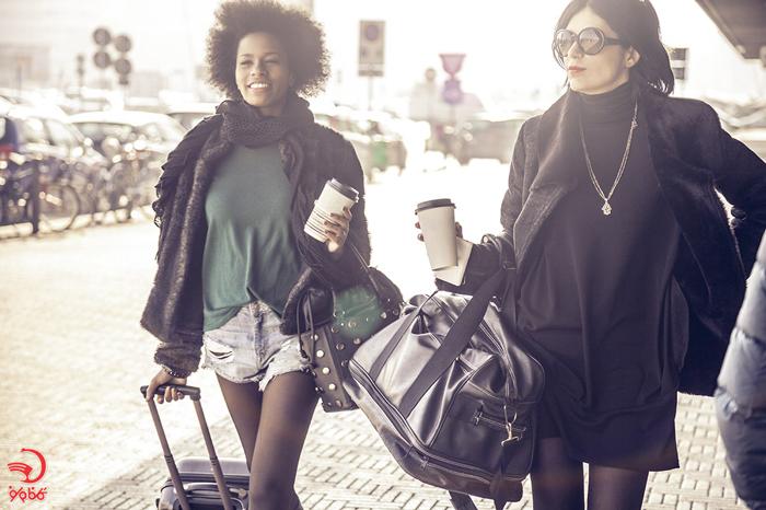 طرز پوشیدن لباس در پرواز های طولانی مدت
