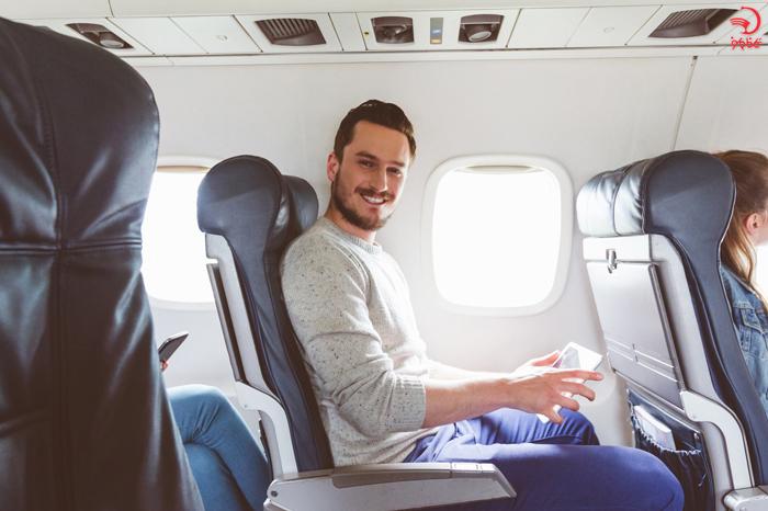 حفظ ظاهر آراسته در پرواز های طولانی
