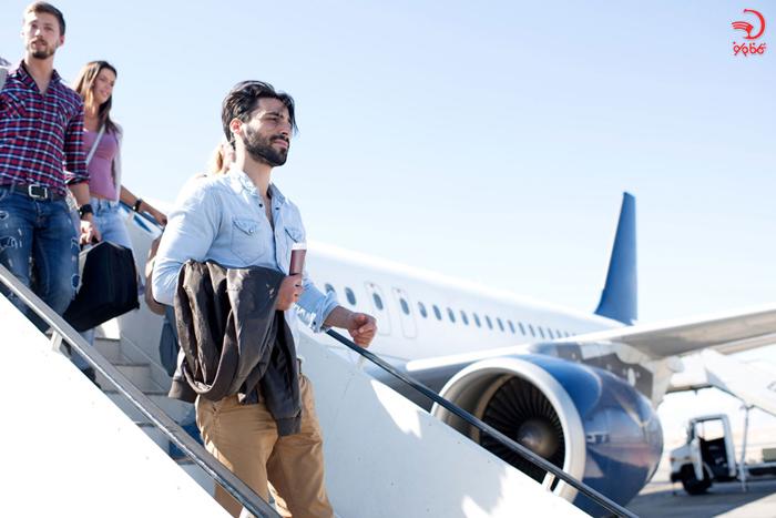 لباس های چند لایه در پرواز های طولانی