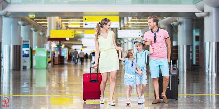 لباس های تنگ در پرواز های طولانی