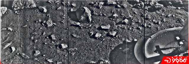 اولین عکس از مریخ