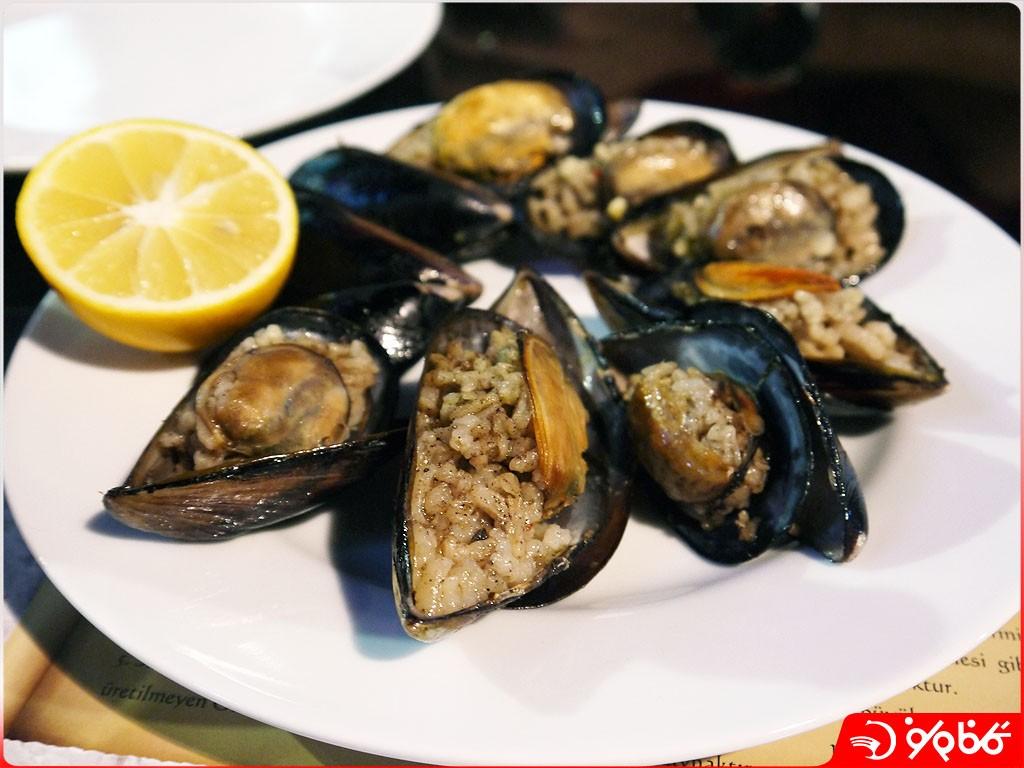 غذای دریایی استانبول
