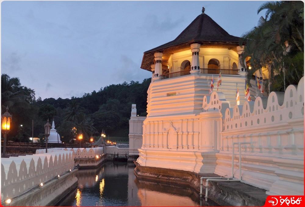 معبد دندان بودا در کندي