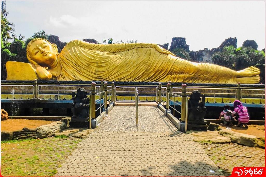 مجسمه 60 فوتي خوابيده بودا