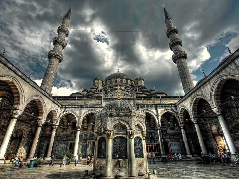 معماری خارجی مسجد جدید