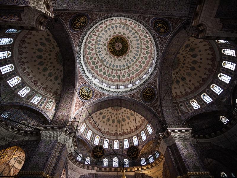 معماری داخلی مسجد جدید
