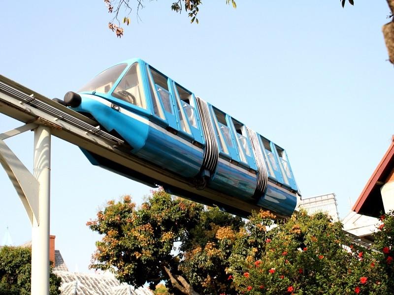 حمل و نقل در پالم جمیرا