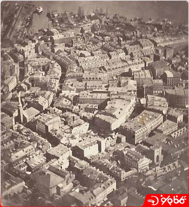 اولین عکس هوایی