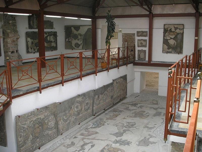 موزه ی موزاییک کاخ بزرگ قسطنطنیه