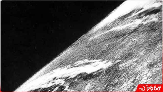 اولین عکس فضایی