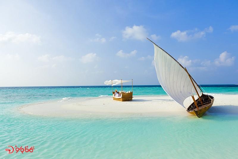 جاذبه های طبیعی مالدیو