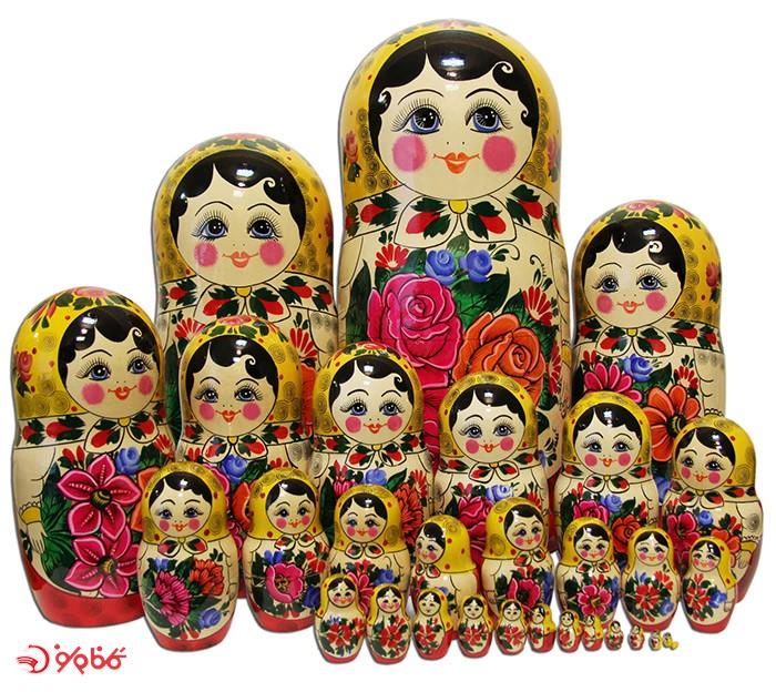 عروسکهای ماتروشکا