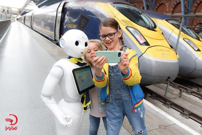 ربات ها از ترند های گردشگری