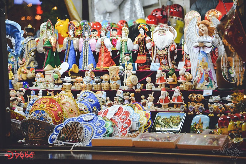 سوغاتی های روسیه