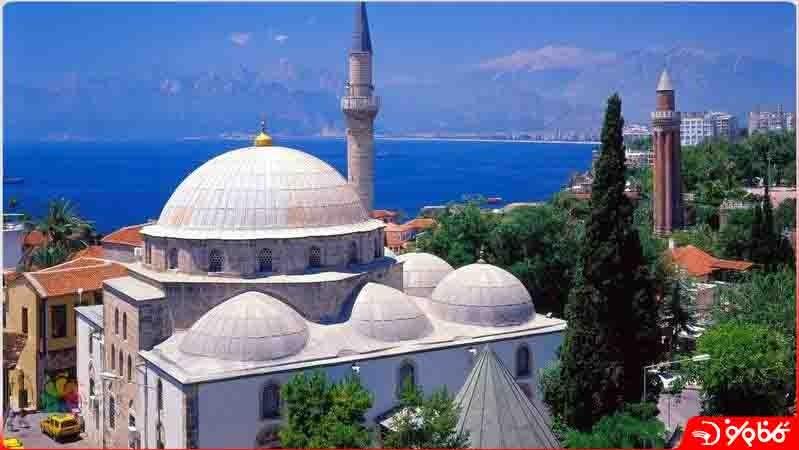 مسجد مناره شکسته -  Yivli Minare Mosque