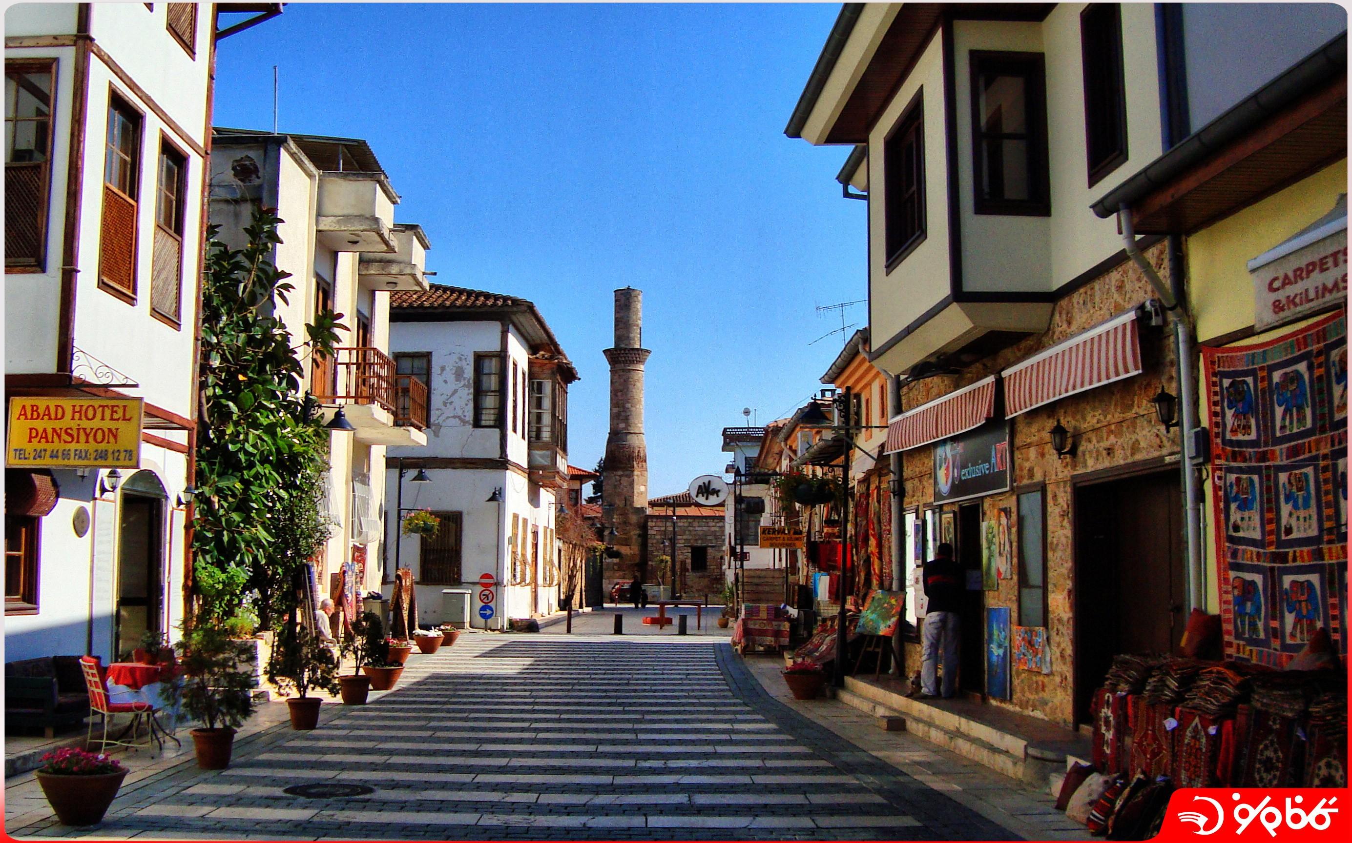 بازار قدیمی آنتالیا