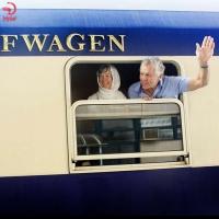 قطارهای گردشگری وارد ایران شدند
