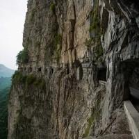 سفری به یکی از خطرناک ترین جاده ها، تونل گولیانگ!