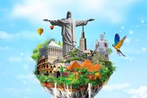 عجایب هفتگانه جهان: شگفتی های دنیای باستان در مقابل دنیای جدید