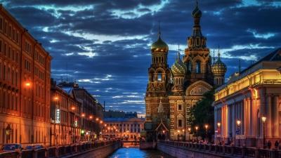 تایم لپس سنت پترزبورگ