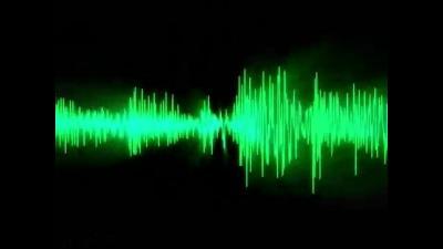 صدای ضبط شده نهنگ 52 هرتز