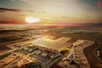 شلوغ ترین فرودگاه دنیا در استانبول